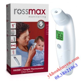 Nhiệt kế điện tử đo trán Rossmax HA500