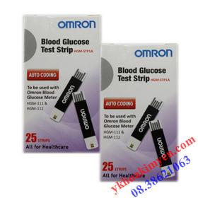 Que thử đường huyết Omron HGM-STP1A